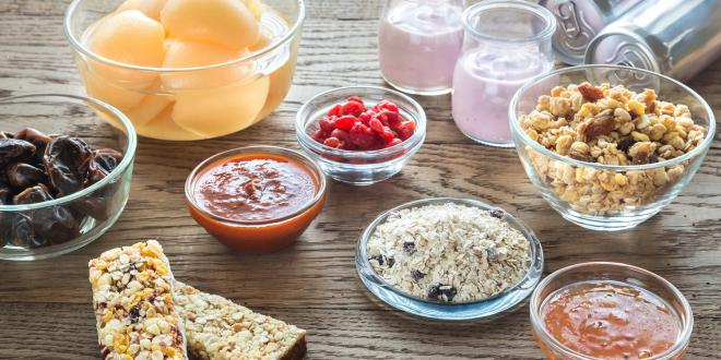 Foods with hidden sugars in them, cereal, granola bars, soda etc.
